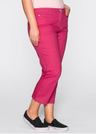 7/8-Stretchhose, bpc bonprix collection, dunkelpink