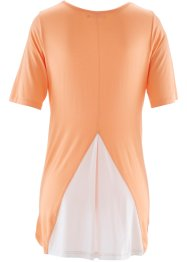 2-in-1-Halbarmshirt, bpc bonprix collection, aprikose
