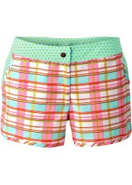 Strandshorts, bpc bonprix collection, rosa/hellblau