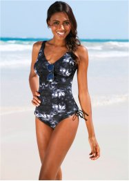 Tankini Oberteil, bpc bonprix collection, schwarz