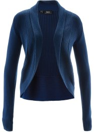 Strickjacke, bpc bonprix collection, dunkelblau