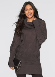 Long-Pullover, BODYFLIRT, anthrazit