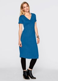 Shirt- Kleid, Kurzarm, bpc bonprix collection, atlantikblau