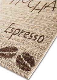 Teppich mit Cappuccino Motiv, bpc living bonprix collection