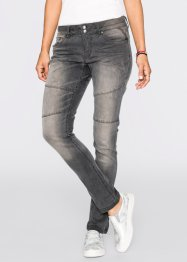 Boyfriend Jeans, RAINBOW, grey denim