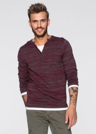 Pullover Slim Fit, RAINBOW, rot meliert