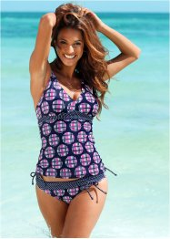 Tankini Oberteil, bpc bonprix collection, blau/pink