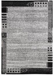Teppich in melierter Optik mit Bordüre, bpc living bonprix collection