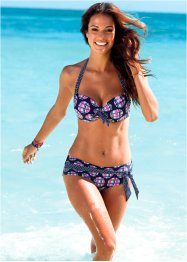 Bikinihose, bpc bonprix collection, blau/pink