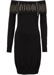 Strickkleid, BODYFLIRT boutique, schwarz