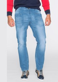 Jeans im Regular Fit Straight, John Baner JEANSWEAR, mittelblau