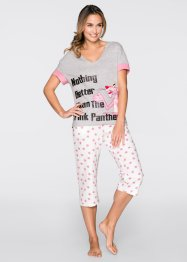 "Capri Pyjama ""Pink Panther"", bpc bonprix collection, bedruckt"