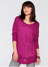 Oversize-Pullover, bpc bonprix collection, violettorchidee