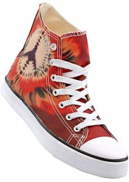 Freizeitstiefel, bpc bonprix collection, batik rot