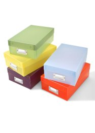 Multi-Boxen (5er-Pack), bpc living, bunt