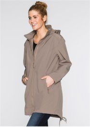 Softshell-Parka, bpc bonprix collection, taupe