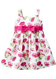 Kleid, bpc bonprix collection, weiss Blumen