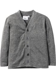 Shirtjacke, bpc bonprix collection, grau meliert