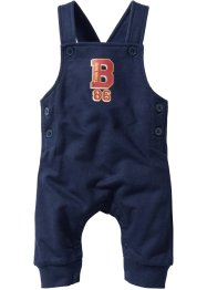 Baby Sweatlatzhose Bio-Baumwolle, bpc bonprix collection, dunkelblau