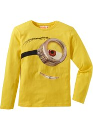 """MINIONS"" Langarmshirt, Despicable Me 2, tulpengelb"