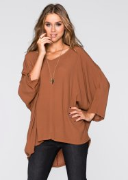 Oversized Blusen-Shirt, RAINBOW, Rost