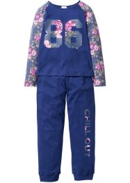 Pyjama, bpc bonprix collection, mitternachtsblau
