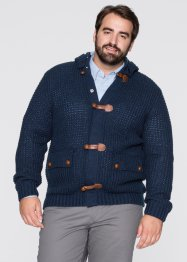 Strickjacke Regular Fit, bpc bonprix collection, dunkelblau