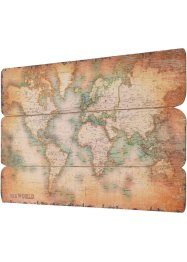 "Wandbild ""World"", bpc living, antik"