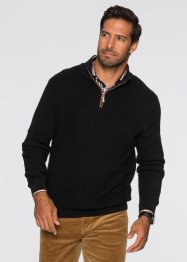 Troyer-Pullover Regular Fit, bpc selection, weinbeere