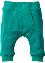 Baby Sweathose Bio-Baumwolle, bpc bonprix collection, dunkelsmaragd
