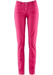 "Stretchhose ""Slim Fit"", bpc bonprix collection, dunkelpink"