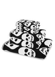 Handtuch mit Totenkopf Muster, bpc living bonprix collection