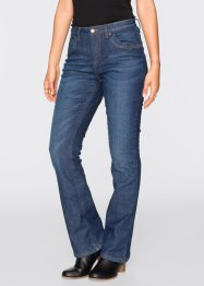 Thermo-Stretch-Jeans BOOTCUT, John Baner JEANSWEAR, dunkelblau
