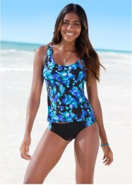 Tankini, bpc bonprix collection, blau/schwarz