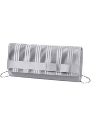 Clutch, bpc bonprix collection, silber