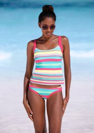 Tankini, bpc bonprix collection, türkis gestreift