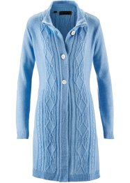 Strickjacke, bpc selection, hellblau