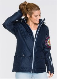 Funktions-Outdoorjacke, bpc bonprix collection, dunkelblau