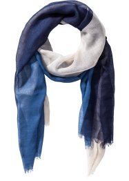 Herrenschal, bpc bonprix collection, blau/grau/beige