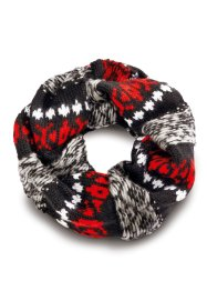 Loop, bpc bonprix collection, rot/grau/schwarz