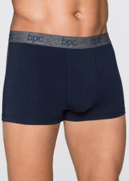 Boxer (3er-Pack), bpc bonprix collection, schiefergrau/dunkelblau