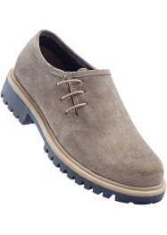 Lederhaferlschuh, bpc bonprix collection, taupe