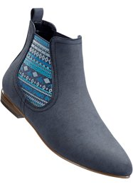Chelseaboot, bpc bonprix collection, blau