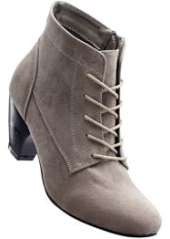 Schnürstiefelette, bpc bonprix collection, taupe