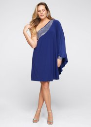 One-Shoulder-Kleid, BODYFLIRT boutique, tiefseeblau