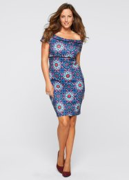 Kleid in Scubaoptik, BODYFLIRT boutique, blau