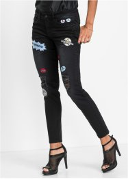 "Skinny Stretchjeans ""Marcell von Berlin for bonprix"", Marcell von Berlin for bonprix, black denim"