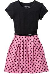 Mädchen Kleid mit Gürtel, bpc bonprix collection