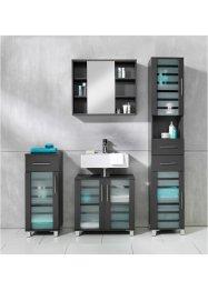 Waschbeckenunterschrank mit Glastüren, bpc living bonprix collection