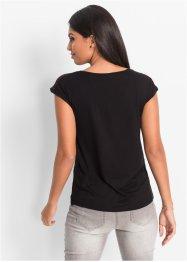Shirt mit Spitzeneinsatz, BODYFLIRT